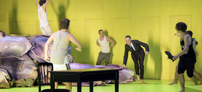 Mort à Venise, à l'Opéra allemand de Berlin