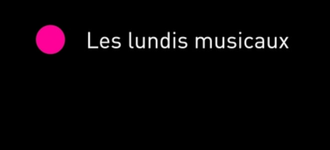 4 Lundis Musicaux à l'Athénée, de février à juin 2020