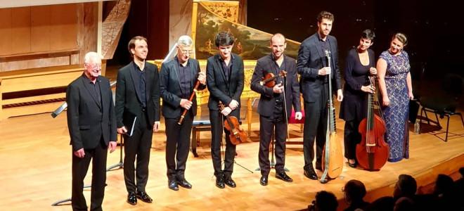 Salon de la Duchesse du Maine par les Arts Florissants à la Philharmonie de Paris