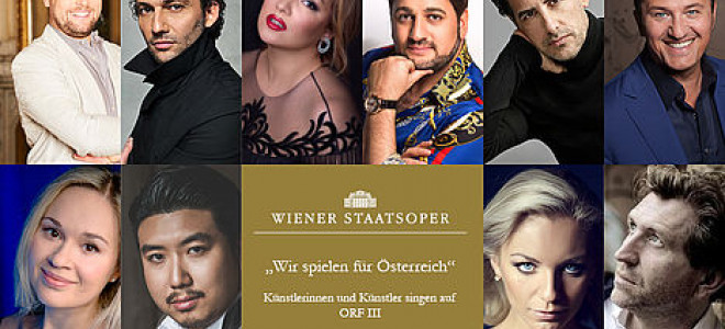 Les stars de l'Opéra chantent pour l'Autriche, à la maison et en salle