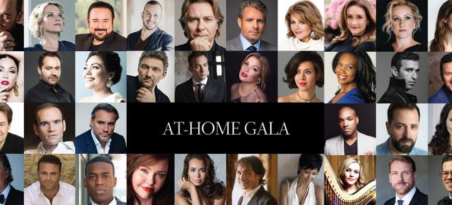 Cyber et Super-Gala d'Opéra : les stars chantent de chez elles pour le Met