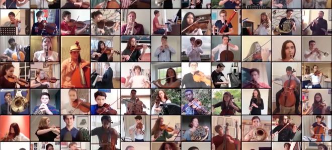 Séparé mais pas désemparé, l'Orchestre des Lycées Français du Monde est paré