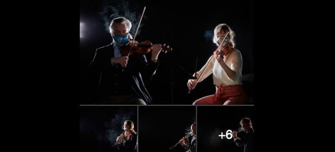 Etude encourageante : les musiciens d'orchestre diffuseraient peu le virus en jouant