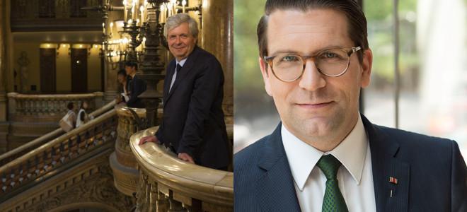 Passation de pouvoirs anticipée à la tête de l'Opéra de Paris