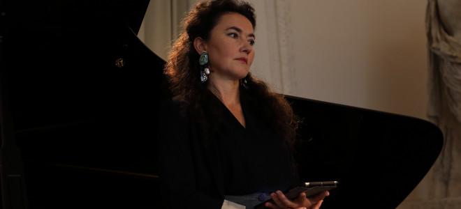 Stéphanie d'Oustrac, récital théâtral vocal au Festival de l'Orangerie à Sceaux