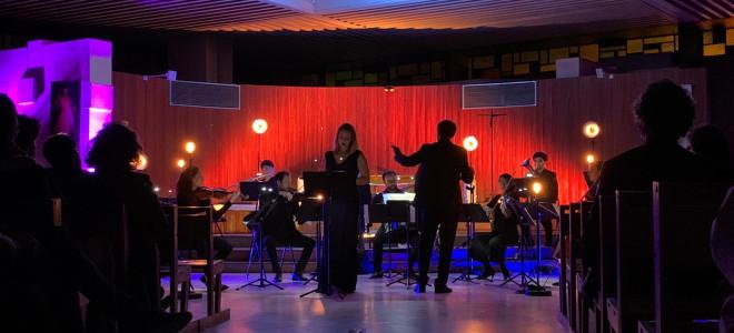 Marie Perbost chante les adieux de Poche en ouverture du Festival Métis Plaine Commune