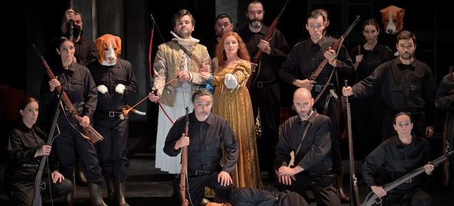 Hippolyte et Aricie, Rameau télétravaille en direct de l'Opéra Comique