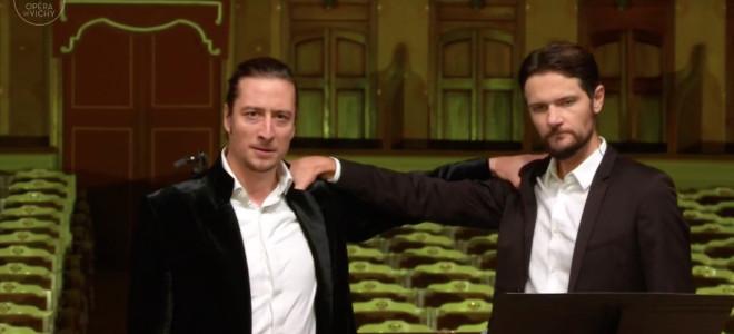 """Union """"fraternelle"""" de voix et d'hommes scellée sur la scène de l'Opéra de Vichy"""