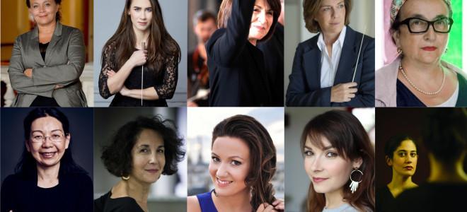 20 femmes (parmi d'autres) qui font l'opéra en France