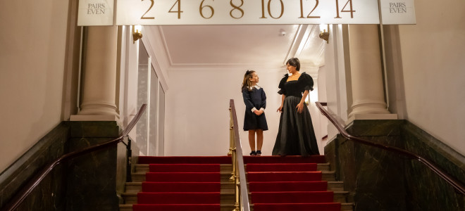 The Queen and her favourite à La Monnaie : Ladies First