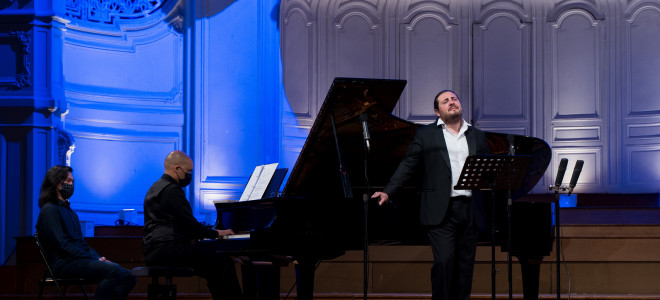 L'Instant Lyrique de Florian Sempey Salle Gaveau : mots et couleurs de la musique française