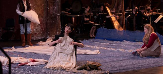 Le Viol de Lucrèce (Britten) par l'Académie de l'Opéra de Paris aux Bouffes-du-Nord
