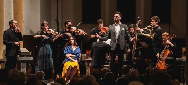 Enthousiasmante Cantate des paysans par l'Ensemble Artifices à Bach en Combrailles