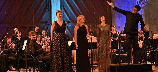 Éblouissants Chœur et Orchestre Ghislieri pour clore les Rencontres Musicales de Vézelay