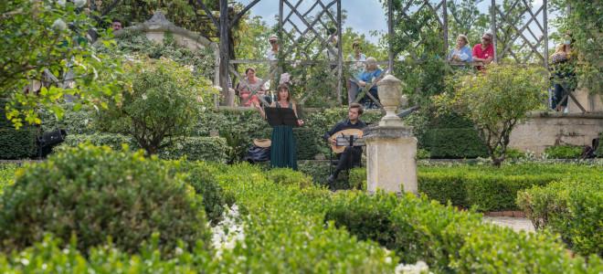 Les Jardins de William Christie, promenades entre potager et musique