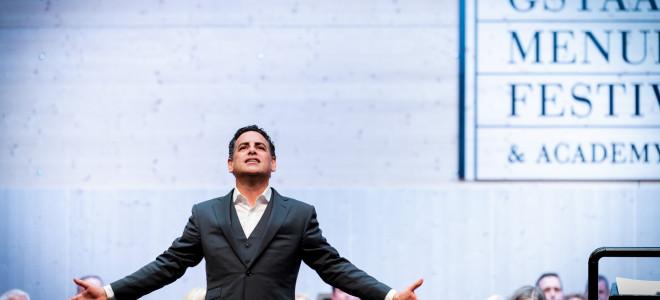 Juan Diego Flórez à Gstaad, la voix de l'éternelle jeunesse