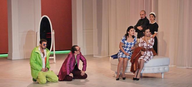 Cosi Fan Tutte - Amour Moderne à l'Opéra de Massy