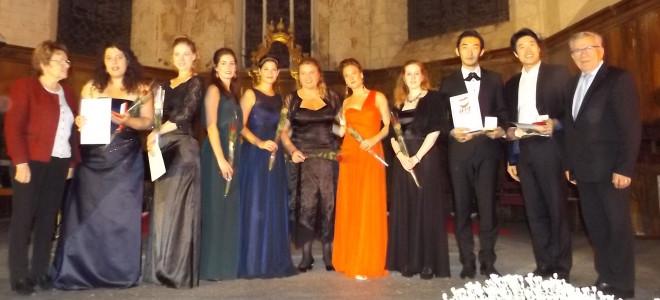 Concours d'Art Lyrique de Vivonne 2016, un Palmarès plein de promesses !