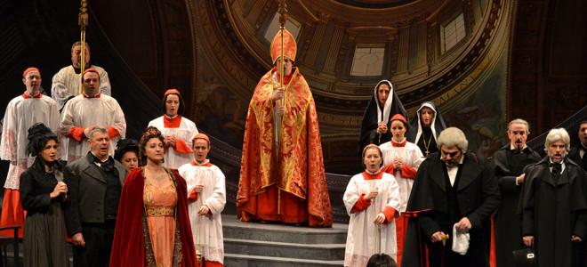Une Tosca poignante à l'Opéra de Massy