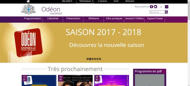 La saison d'opérettes 2017/2018 à l'Odéon de Marseille