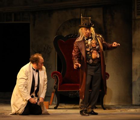Homero Pérez-Miranda et Rodolphe Briand - Les Contes d'Hoffmann par Paul-Émile Fourny