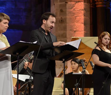 Emmanuelle de Negri, Damien Guillon et Benedetta Mazzucato