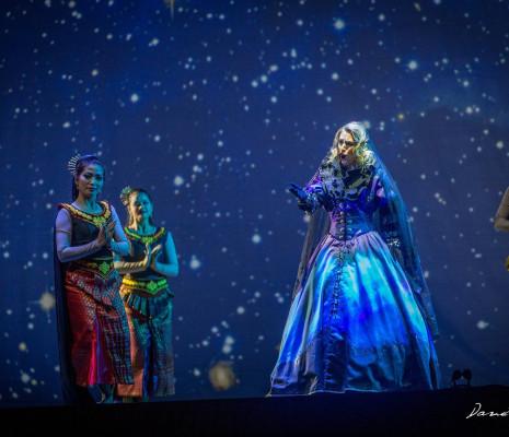 Christina Poulitsi dans La Flûte enchantée à Sanxay
