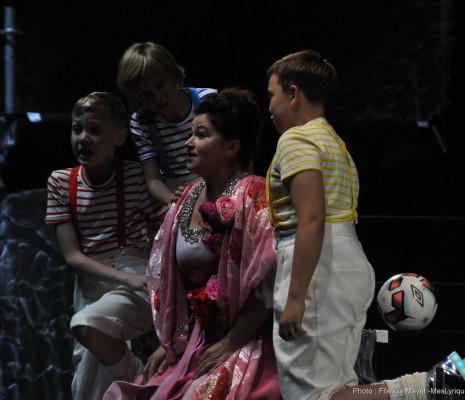 Tatiana Lisnic dans La Flûte enchantée à Sanxay