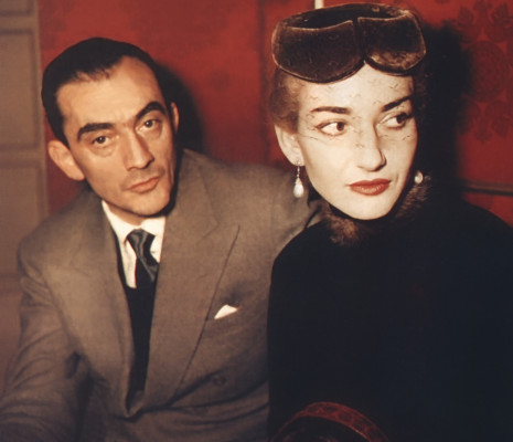 Visconti et Maria Callas