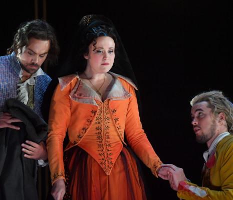 Julien Behr, Kiandra Howarth & Andrè Schuen - Don Giovanni par Jean-François Sivadier