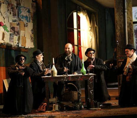 La Bohème par Paul-Émile Fourny - Régis Mengus, Tapani Plathan, Jean-Fernand Setti, Diego Silva et Mikhael Piccone