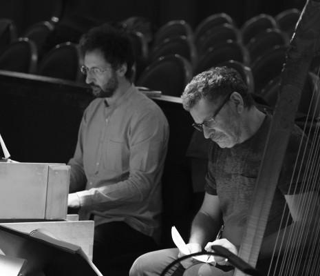 Moshe Leiser et Gianluca Capuano en répétition