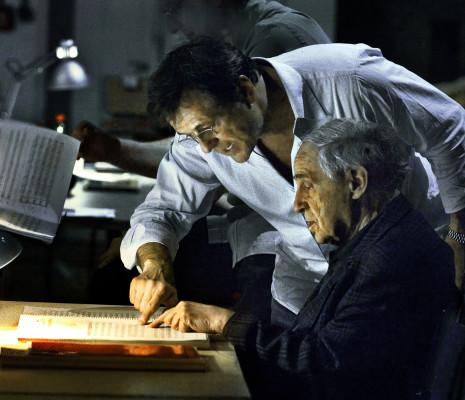 Patrice Chéreau et Pierre Boulez