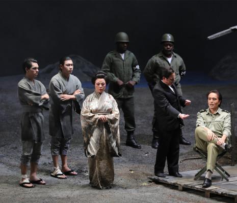 Qiulin Zhang, Colin Judson & Roberto De Biasio - Madame Butterfly par Daniel Benoin