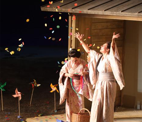Qiulin Zhang & Deniz Yetim - Madame Butterfly par Daniel Benoin