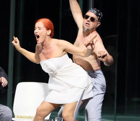 Marlis Petersen & Martin Winkler - Lulu par Tcherniakov