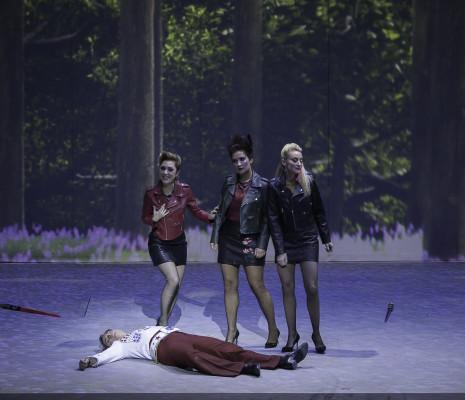 Marion Grange, Mareike Jankowski & Pauline Sabatier - La Flûte Enchantée par René Koering