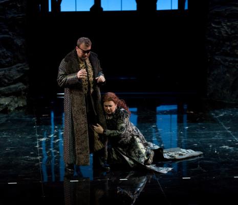 Tomasz Konieczny (Wotan), Anna Smirnova (Brünnhilde) - La Walkyrie par Nicolas Joël