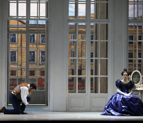 Isabelle Cals  et David Bizic - Eugène Onéguine par Pénélope Bergeret