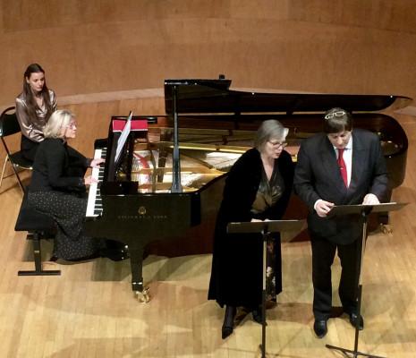 Mireille Delunsch & Éric Huchet - Printemps de la Mélodie, salle Cortot