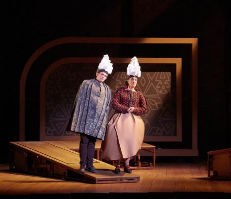 Majdouline Zerari et Nicholas Merryweather - La Princesse légère par Jos Houben et Emily Wilson