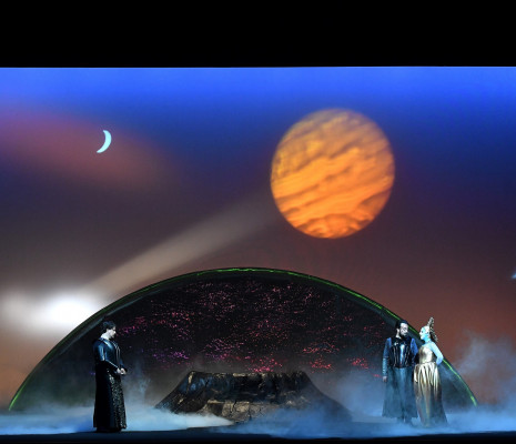 Anaïk Morel (Carmen), Robert Watson (Don José) et Jean-Vincent Blot (Zuniga) - Carmen par Aik Karapetian