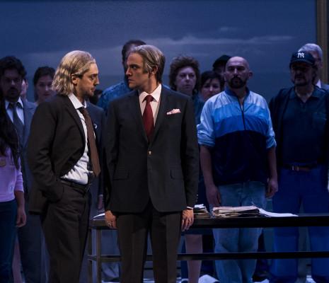Vittorio Vitelli et Armando Noguera dans Simon Boccanegra