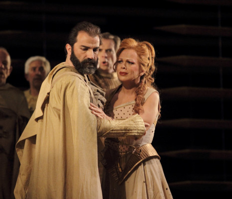 Inva Mula et Florian Laconi dans Hérodiade