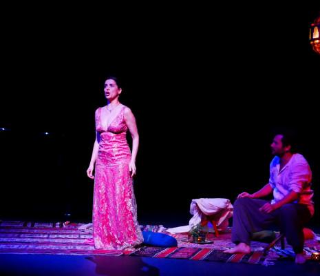 Amel Brahim Djelloul & Aymeric Lecerf - Les 1001 lunes de la Princesse Boudour