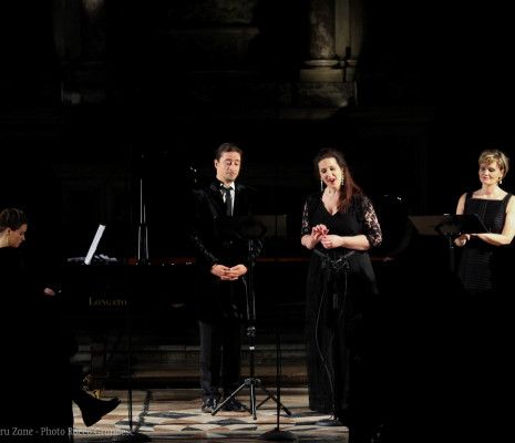 Chantal Santon, Jérôme Boutillier et Juliette Mars au Palazzetto Bru Zane