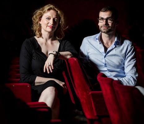 Eva Kleinitz et Bruno Bouché