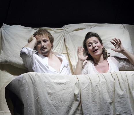 Norbert Ernst (Lohengrin) et Barbara Haveman (Elsa) - Lohengrin par Louis Désiré