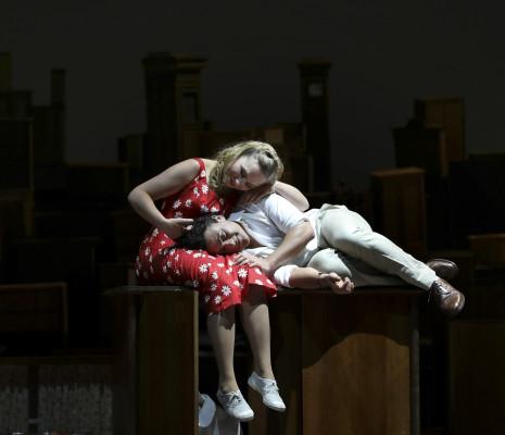 Elsa Dreisig et Vittorio Grigolo dans Gianni Schicchi