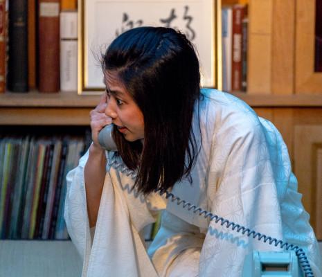 Masayo Tago - La Voix humaine par Mireille Larroche